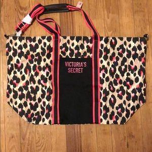 Victoria's Secret Large Canvas type bag NWT